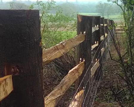 agricultural fencing, Horsham