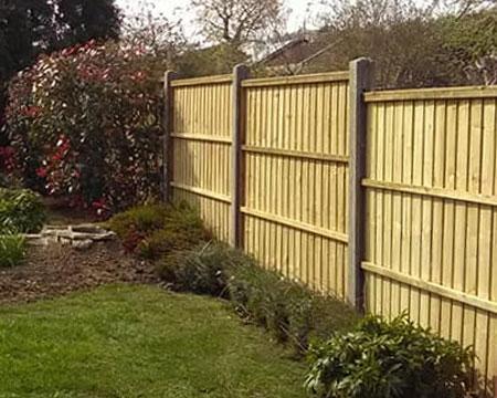 garden fencing, Horsham
